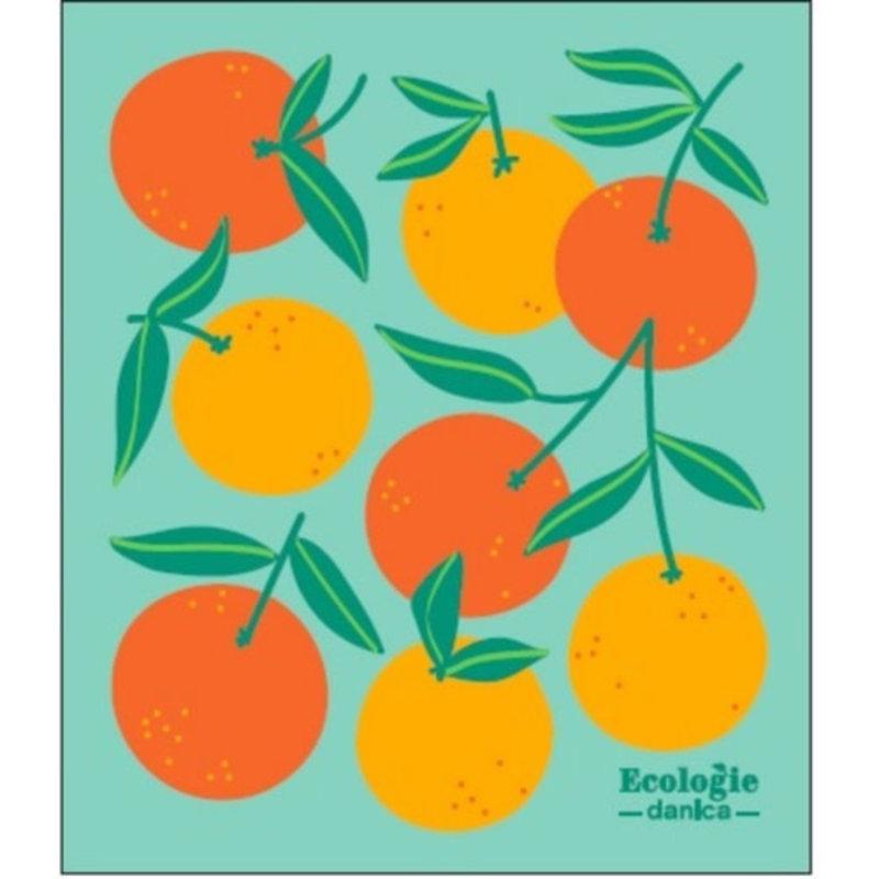 Danica/Now Designs Dishcloth Swedish Oranges