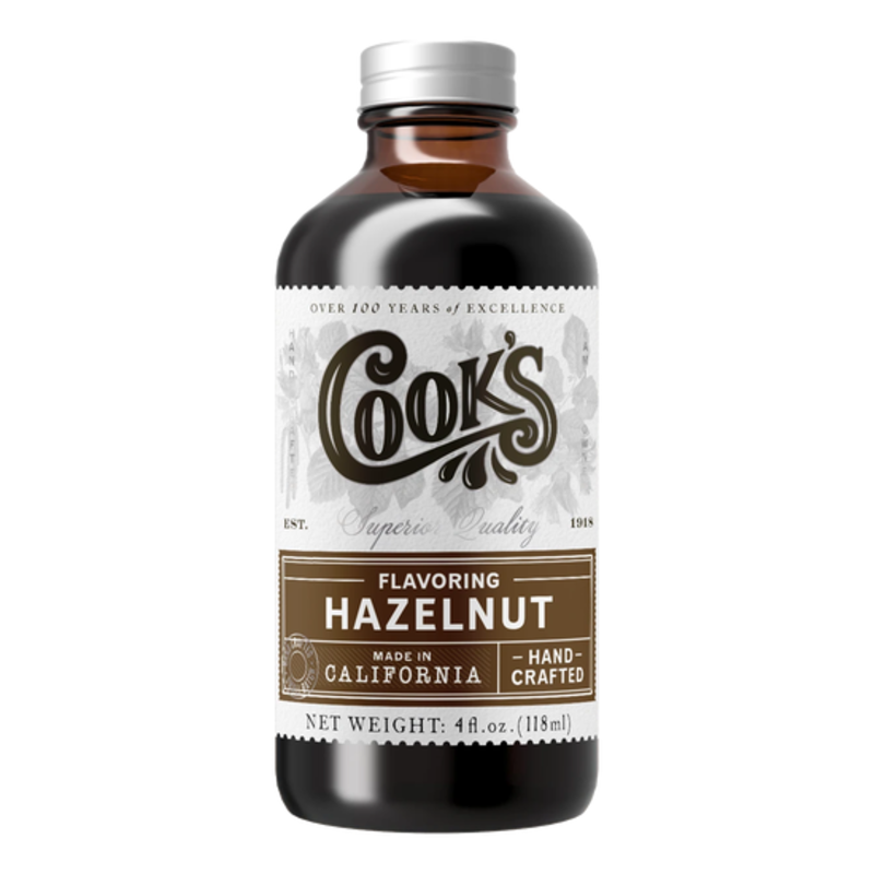 Cook Flavoring Company Natural Hazelnut Flavouring 4oz