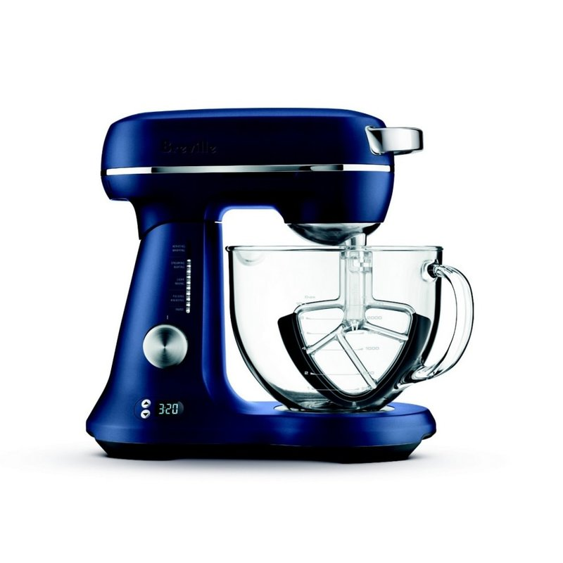 Breville Breville the Bakery Chef Stand Mixer - Damson Blue