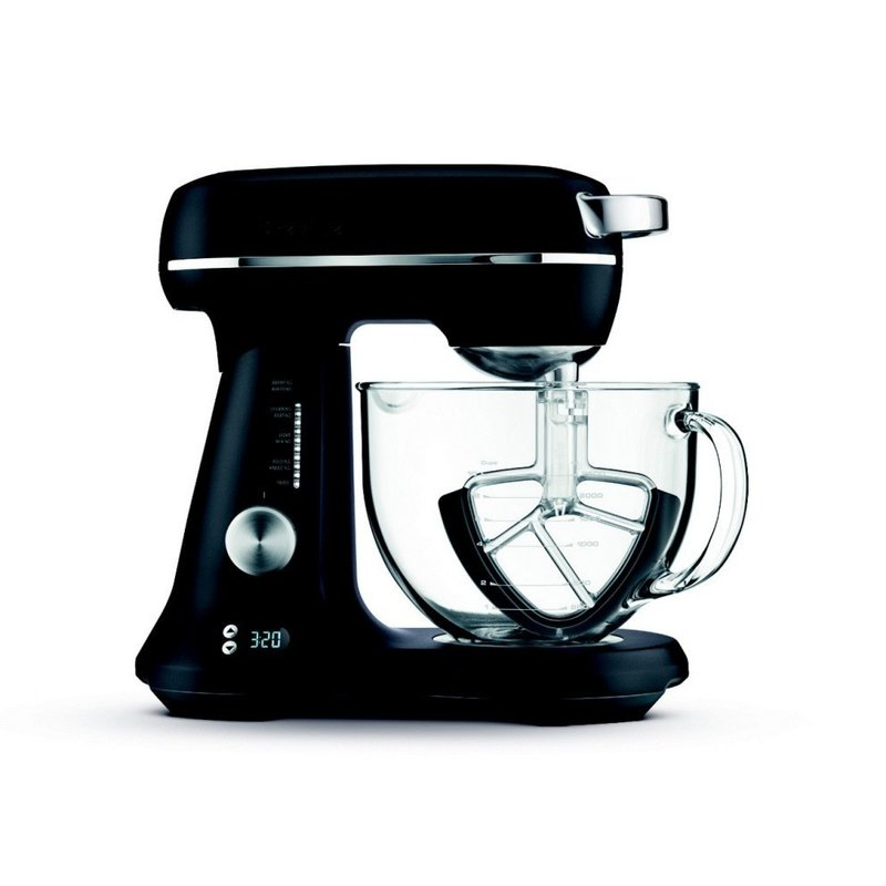 Breville the Bakery Chef Stand Mixer - Black Truffle