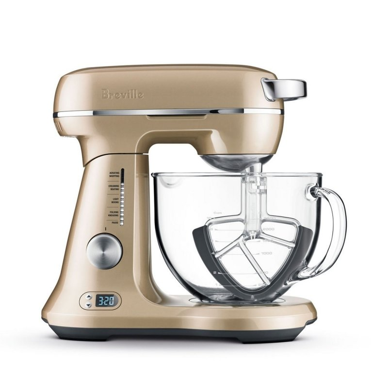 Breville Breville the Bakery Chef Stand Mixer - Royal Champagne