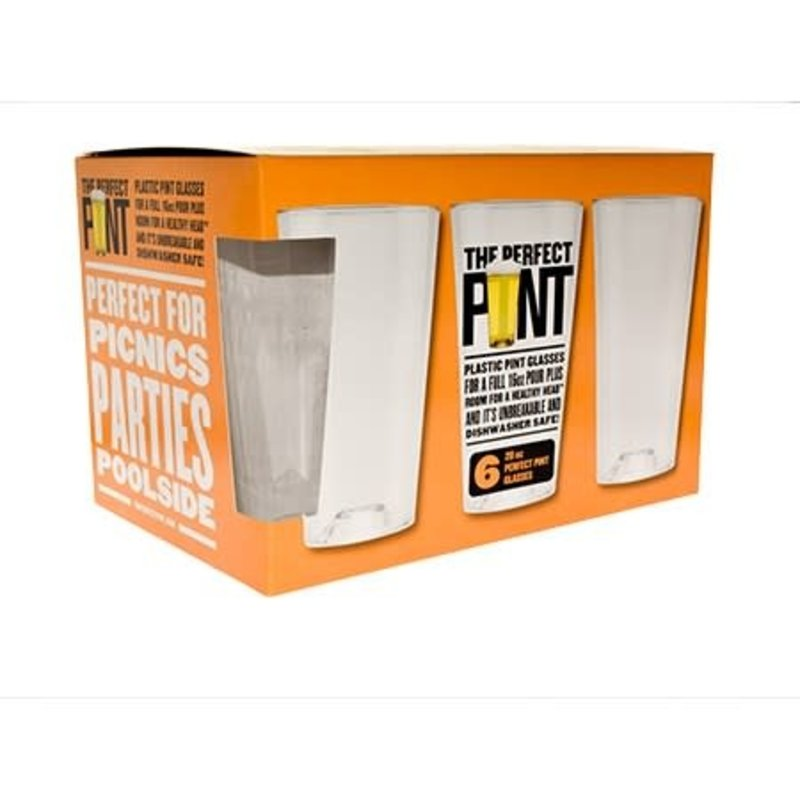 The Perfect Pint The Perfect Pint Beer Glass  - 6pack 20oz