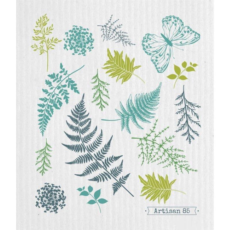 Artisan 85 Forest Ferns Swedish Cloth
