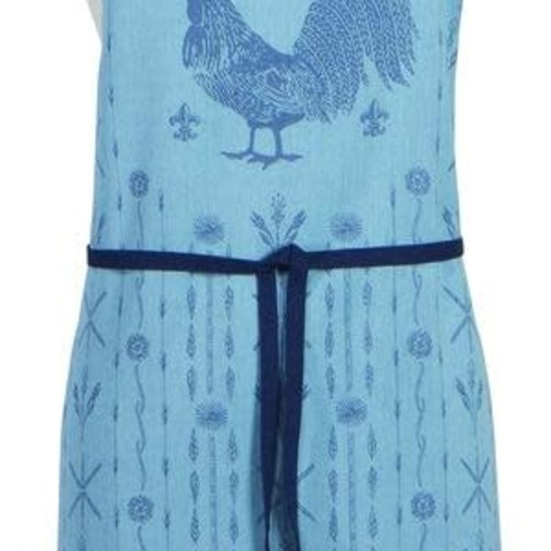 Danica/Now Designs Apron - Spruce - Jacquard Rooster Francaise