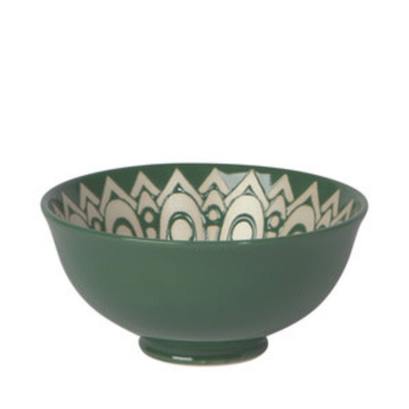 Danica/Now Designs Bowl Stamped - 4.5in - Kala Jade