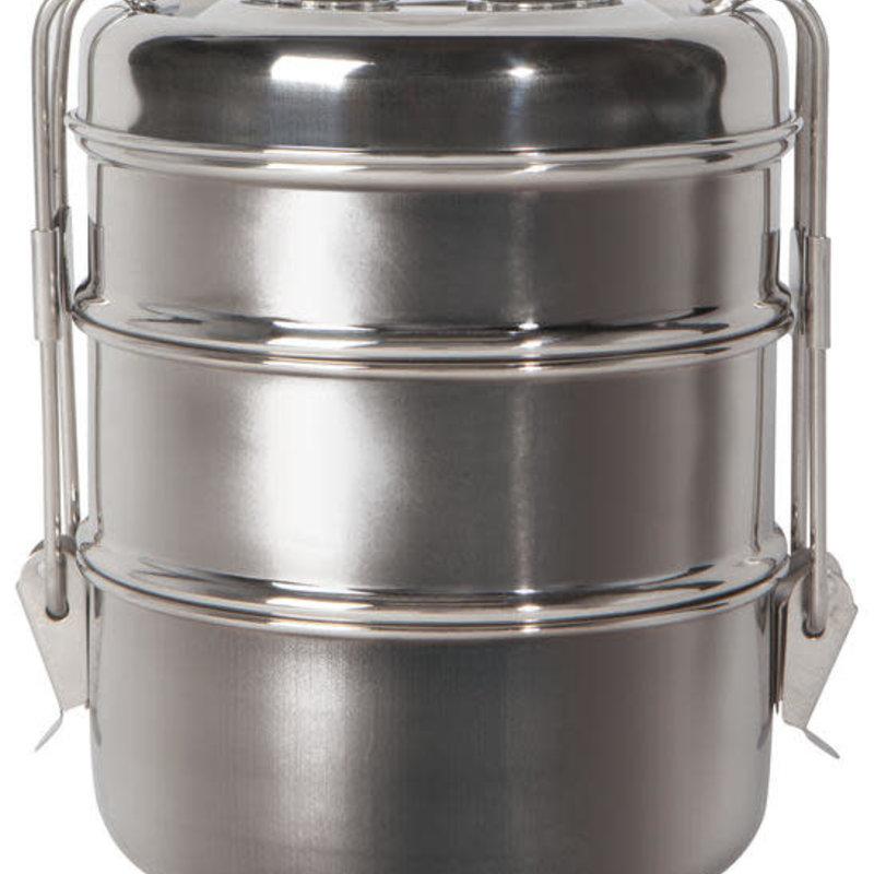 Danica/Now Designs Tiffin Box 3 Tier - Simply Steel