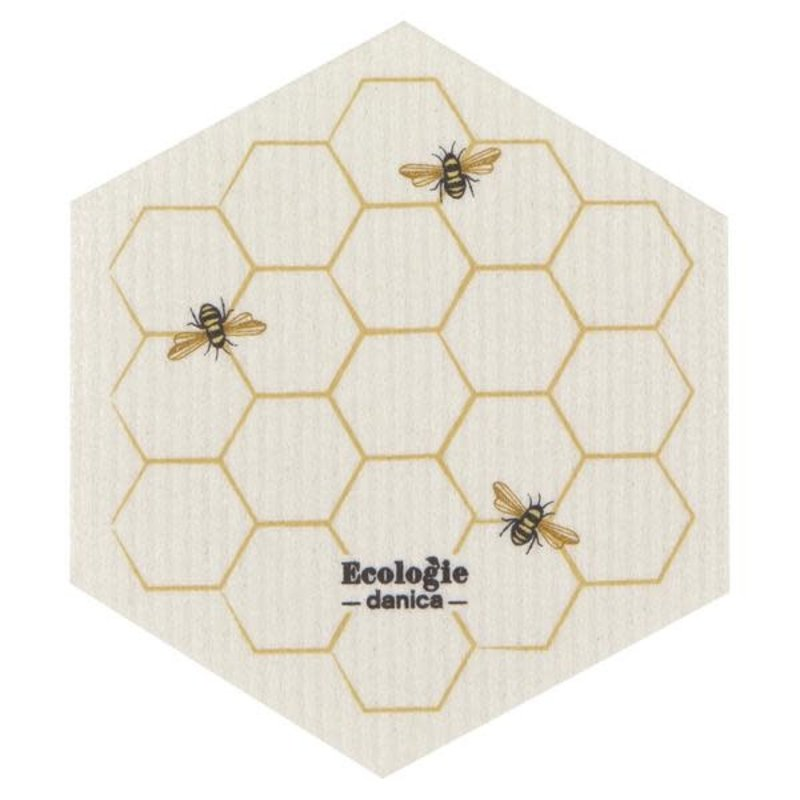 Danica/Now Designs Dishcloth Swedish Shaped Bees
