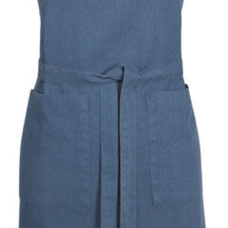 Danica/Now Designs Apron - Heirloom Stonewash - Midnight Blue