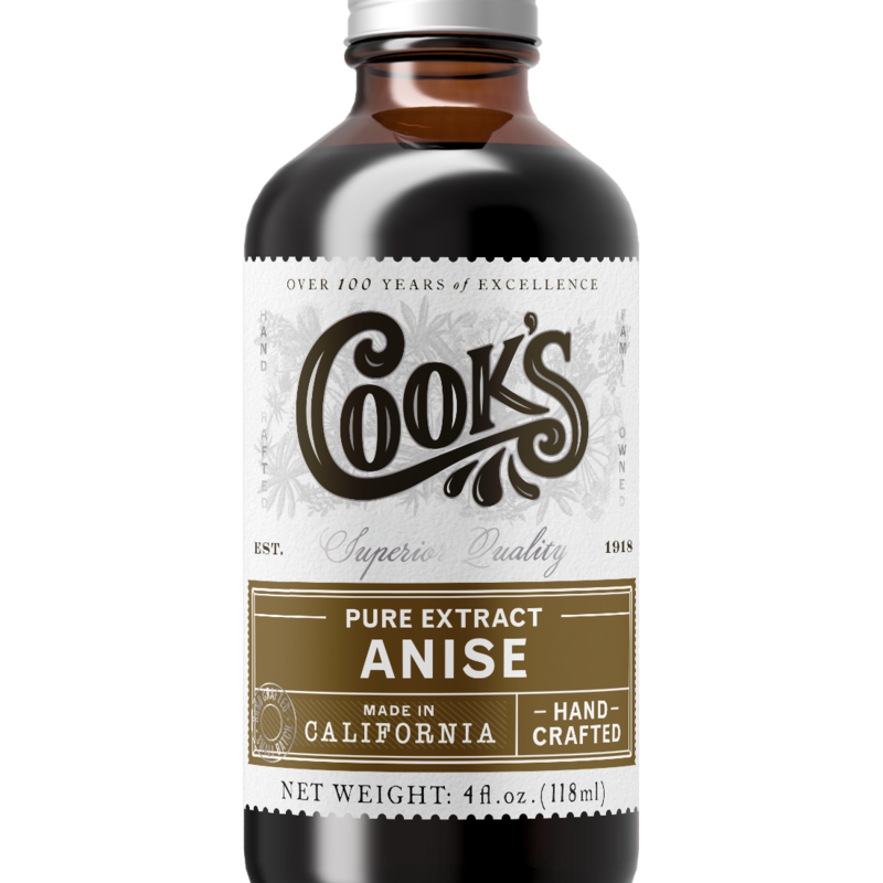 Cook Flavoring Company Pure Anise Extract 4oz