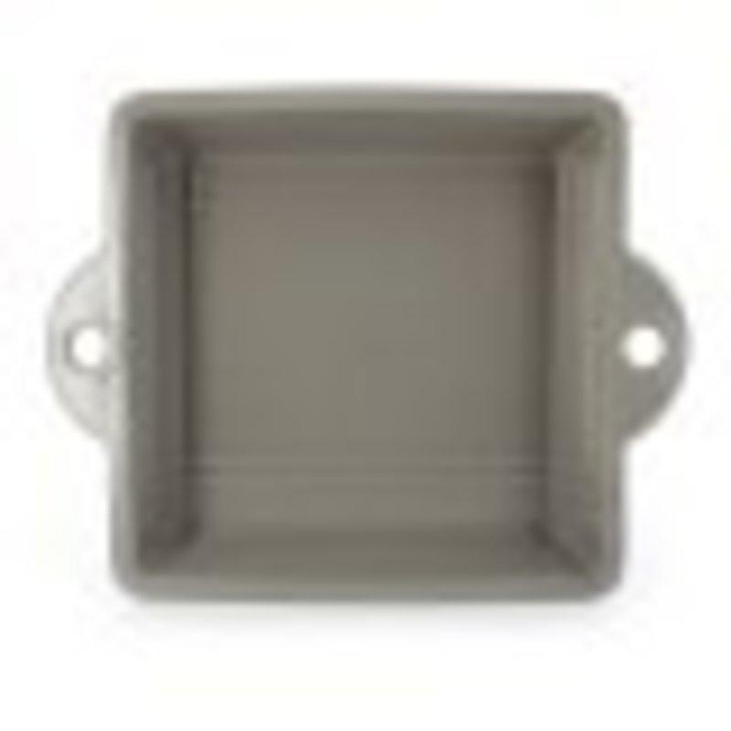 Revol Revol Square Cake Pan Grey 25.5 cm