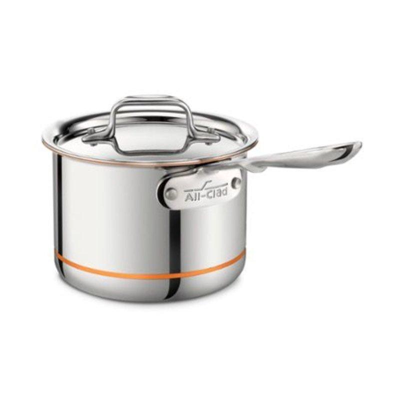 All-Clad All-Clad 2-Qt Copper Core Saucepan with Lid