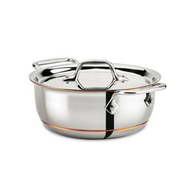 All-Clad All-Clad 2.5-Qt Copper Core Grain & Bean Pot