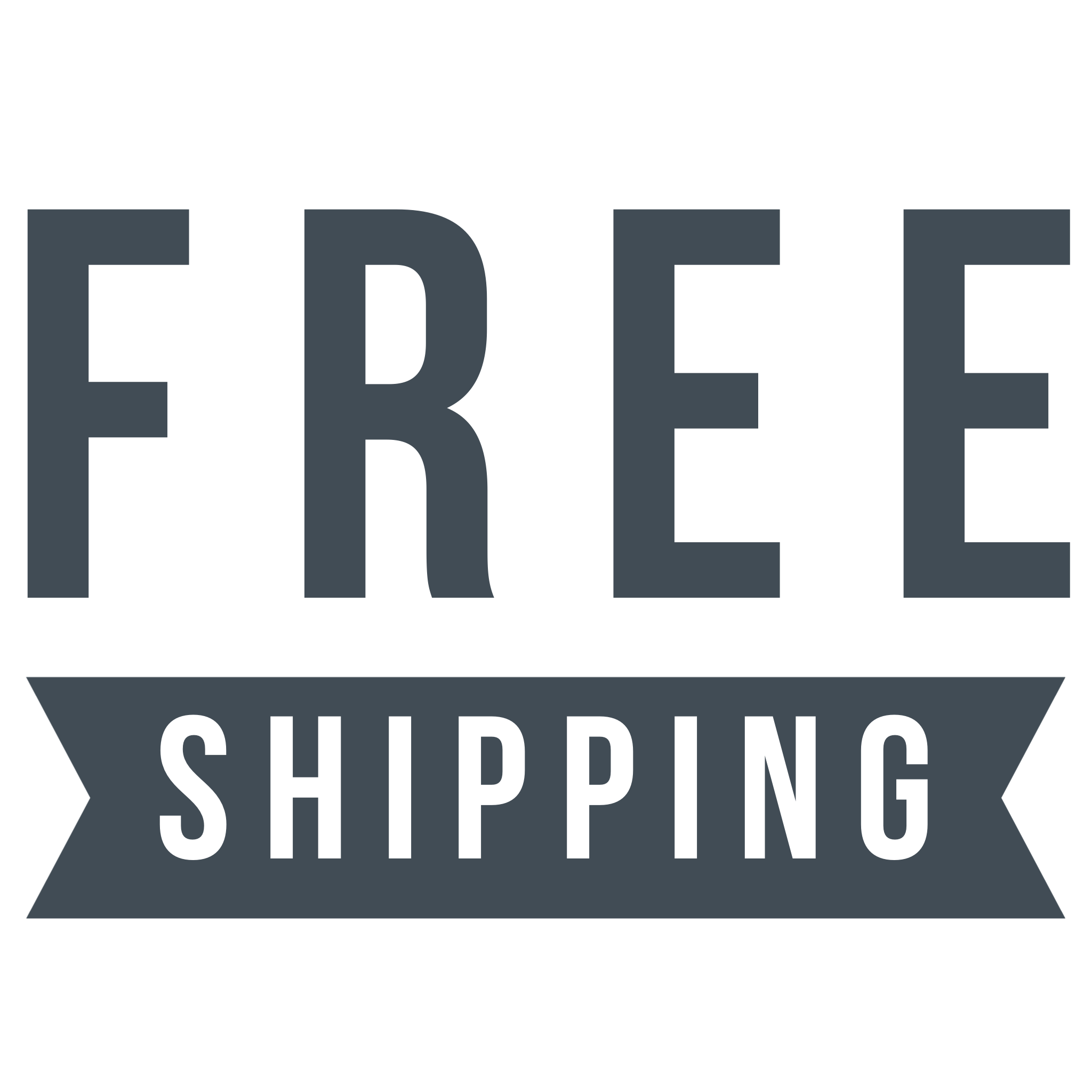 free regular shipping on $250 +