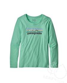 Patagonia Girls' Long Sleeve Graphic Organic  T-Shirt