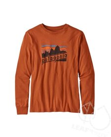 Patagonia Boys' Long Sleeve Graphic Oraganic T-Shirt