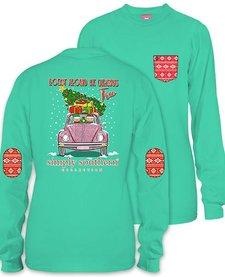 Simply Southern Rockin Elf Long Sleeve Tee