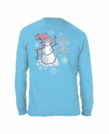Anna Grace Shake Your Flakes Comfort Colors Long Sleeve Tee