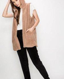 Janina Faux Fur Vest