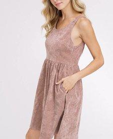 Vintage Corduroy Sleeveless Dress