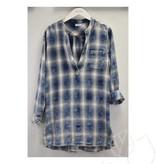 True Grit Plaid Vintage Washed Thompson Tunic