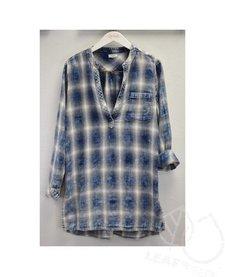 Plaid Vintage Washed Thompson Tunic