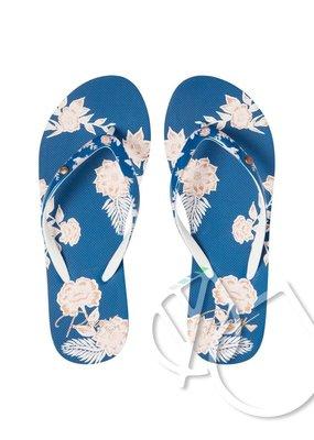 Roxy Roxy Portofino Flip-Flops -LAKE BLUE (lkb)