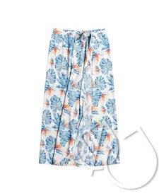 Roxy Free As Waves Maxi Wrap Skirt