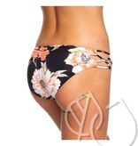 Roxy Roxy Beach Classics Full Bikini Bottoms -ANTHRACITE S NEW FLOWERS (kvj7)