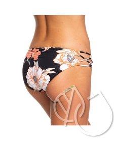 Roxy Beach Classics Full Bikini Bottoms -ANTHRACITE S NEW FLOWERS (kvj7)
