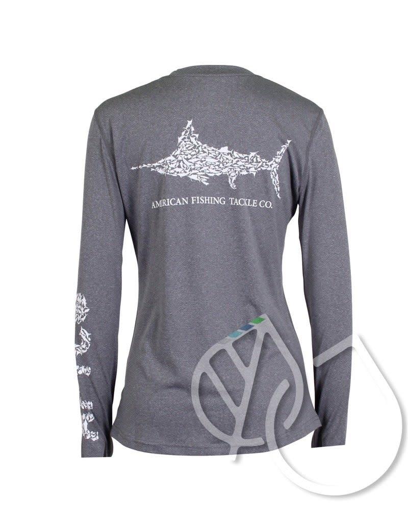 Aftco Aftco Women's Fishing Shirt Jigfish