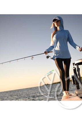 Aftco Aftco Women's Samurai hooded fishing shirt