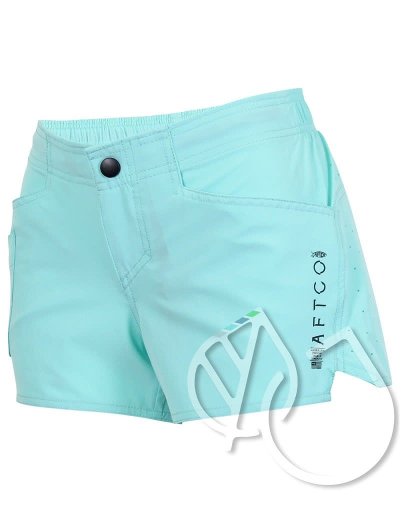 Aftco Aftco Women's Fishing Short Microbyte