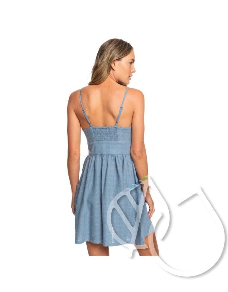 Roxy Roxy Under The Cali Sun Knot-Front Strappy Dress
