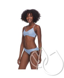 Body Glove WILD ALANI REVERSIBLE BIKINI TOP - DENIM
