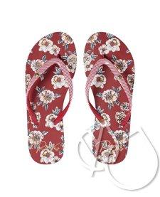 Roxy Portofino Flip-Flops -ROSE SHADOW (rsd)