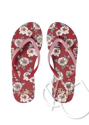 Roxy Roxy Portofino Flip-Flops -ROSE SHADOW (rsd)