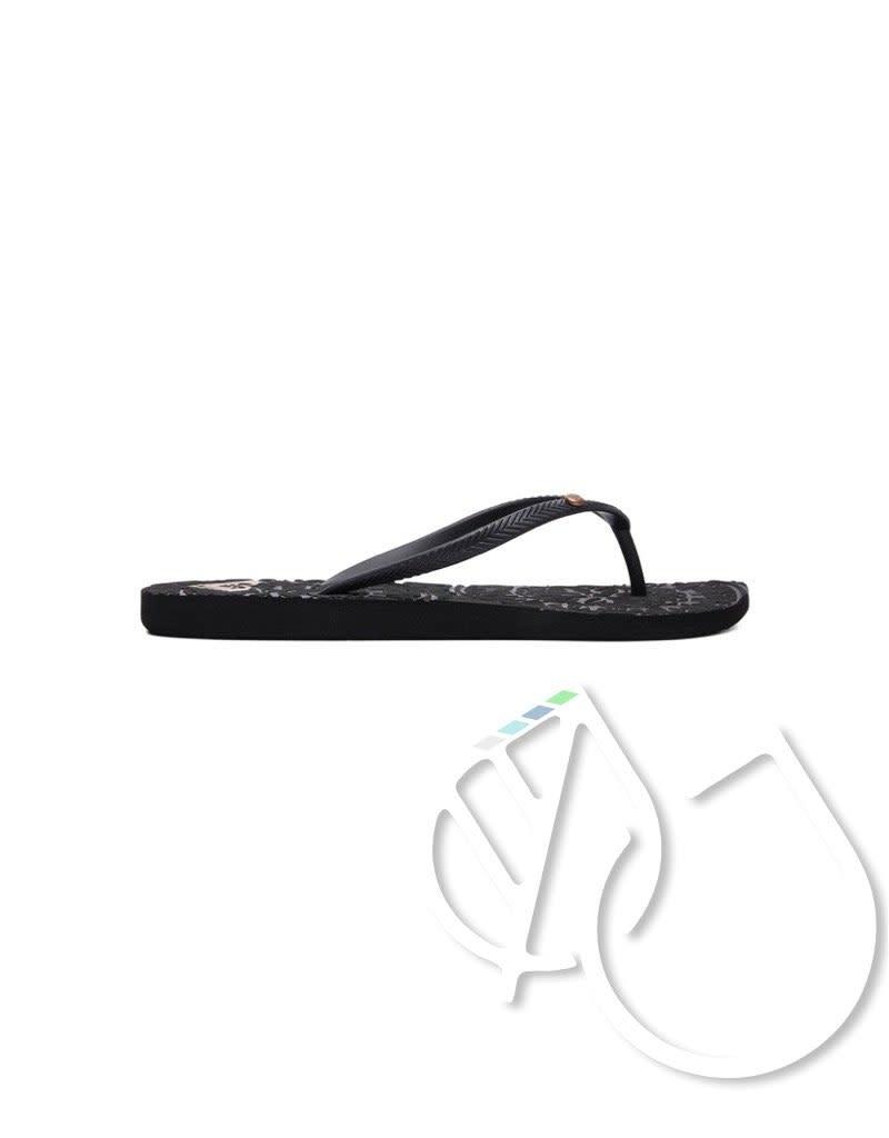 Roxy Roxy Antilles Flip-Flops -BLACK (blk)