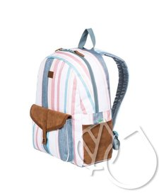 Roxy Carribean Medium Backpack -SNOW WHITE RETRO VERTICAL (wbk3)