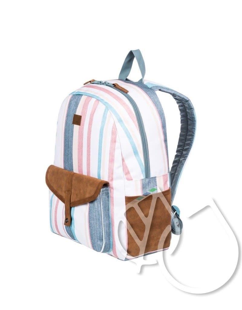 Roxy Roxy Carribean Medium Backpack -SNOW WHITE RETRO VERTICAL (wbk3)
