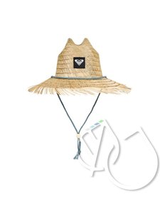 Roxy Tomboy Straw Lifeguard Hat