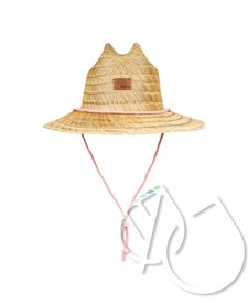 Roxy Pretty Smiles Straw Sun Hat