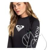 Roxy Roxy Whole Hearted Long Sleeve UPF 50 Rash Guard -ANTHRACITE (kvj0)
