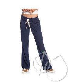 Roxy Oceanside Flared Linen Pants -MOOD INDIGO (bsp0)