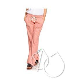 Roxy Oceanside Flared Linen Pants -ROSETTE (mhw0)