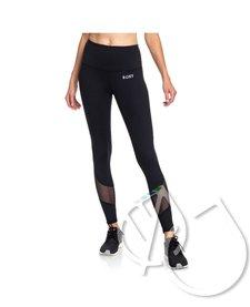 Roxy Say You Say Me Yoga Capris Leggings -TRUE BLACK (kvj0)