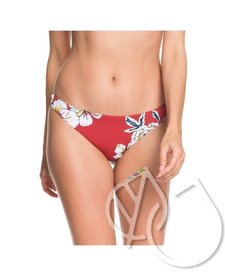 Roxy Printed Beach Classics Mini Bikini Bottoms -DEEP CLARET SWIM FULL SEPT (rqh7)