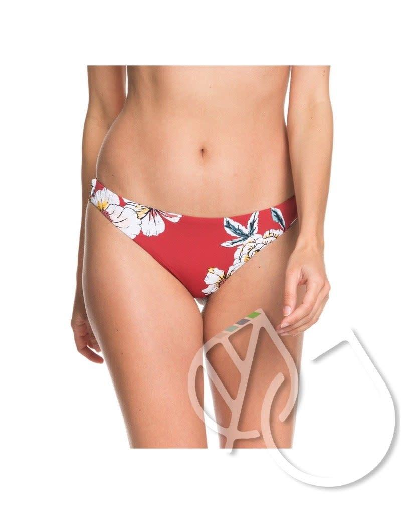 size 40 4e638 d660e Roxy Printed Beach Classics Mini Bikini Bottoms -DEEP CLARET SWIM FULL SEPT  (rqh7)