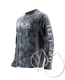 HUK ICON X CAMO LS SHIRT