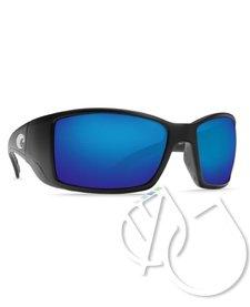Costa Blackfin Blue Mirror 580P -Matte Black
