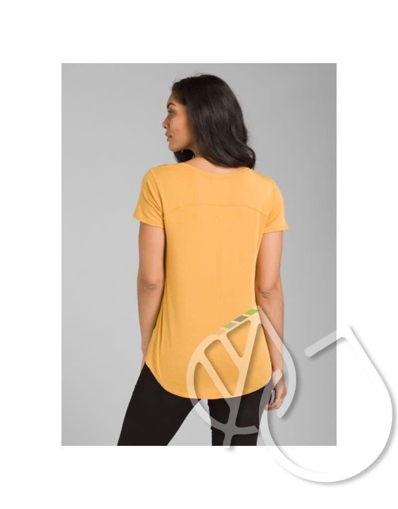 PrAna Prana Foundation Short Sleeve V-neck